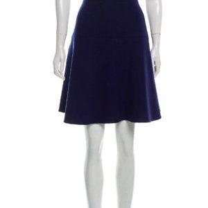 CARVEN wool knee length skirt FR38 NWOT